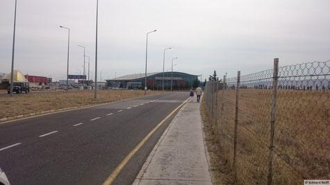 eine Winzigkeit von Flughafen, aber scheint seinen Zweck zu erfüllen