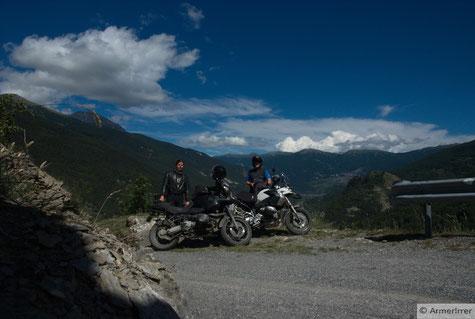 die Auffahrt nach Puy war schwer zu finden, der Ausblick aber war genial