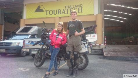 neulich bei Touratech in Bangkok, sorry für die schlechte Bildqualität