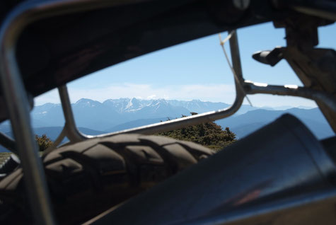 keine Ahnung wie der Berg hieß, da standen aber die Antennen welche ich von meinem Balkon aus gesehen hab, und das Navi hat sich schon lange nicht mehr ausgekannt