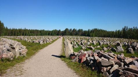 Mahnmal an den Winterkrieg zwischen Finnland und Russland 1939-40
