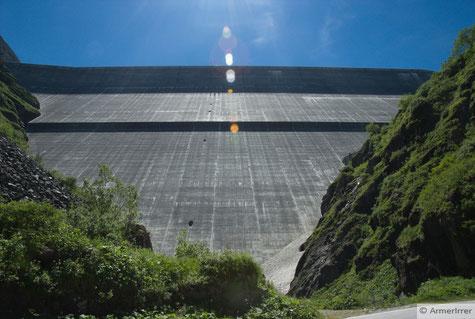 Staumauer Grande-Dixence