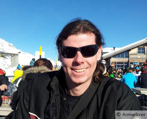 Januar 2014 in Adelboden, eine halbe Stunde später bin ich auf dem Schlitten die Skipisten runter gedüst, irgendwie ein bisschen irre *lach*