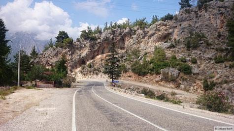 kurz vor Antalya in den Bergen