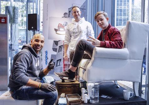 Adidas Originals, Adidas, Store Opening, Berlin, Dienstleistung, Service, Event, Superstar, Sneaker-Cleaner