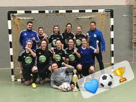 Das Siegerteam. Foto: Viktoria Großenenglis