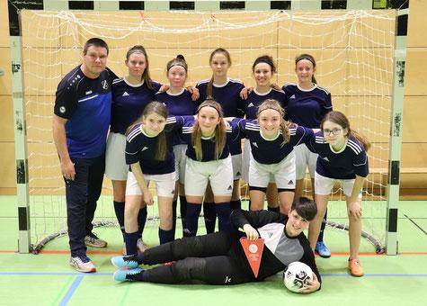 TuS Viktoria Großenenglis B-Mädchen: 2. Platz im Futsal-Regionalpokal.