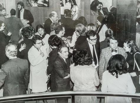 Vernissage de l'exposition de 1980