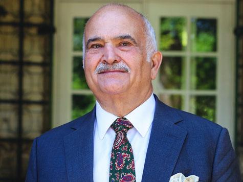 S.A.R. le Prince El Hassan Bin Talal de Jordanie