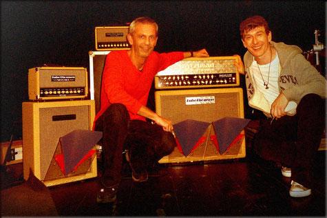 Marcus Deml HooVi Deeflexx Gitarrenverstärker Boxen