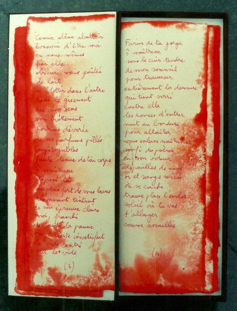 Livre de l'amante et du sourire – Dominique Sampiero