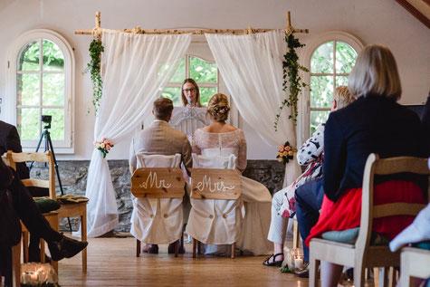 Zeremonie Scheune