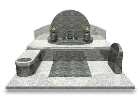 デザイナーズ墓石MemoireMaChereエトワールⅡ