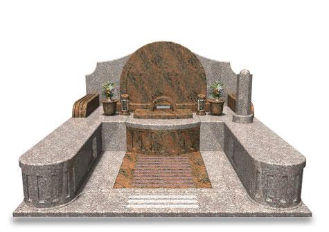 デザイナーズ墓石MemoireMaChereエトワール