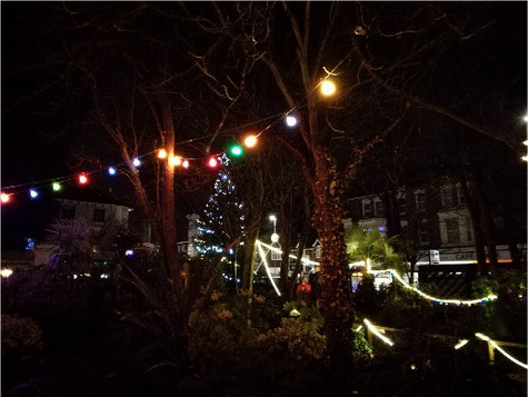 Broadstairs Pierremont Park Festive Lights Christmas at the seaside near London