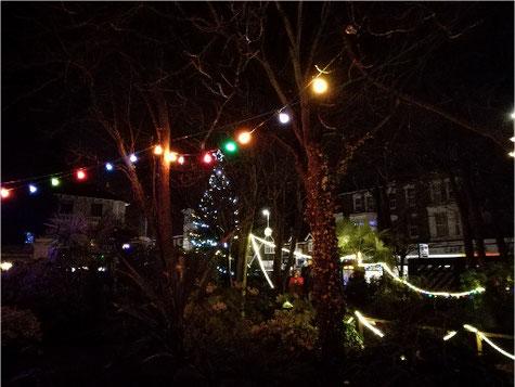 Broadstairs Pierremont Park Festive Lights Christmas at the seaside near London