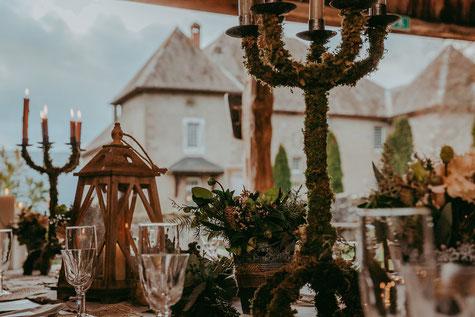 mariage-boheme-champetre-chateau-decoration-table-nature-montagne-savoie