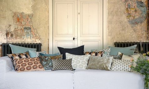 Elitis, Kissen, Design, nachhaltig, Frankreich