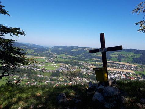 Gipfelkreuz Bräumauer, Maisenkögerl, Scharnstein, Almtal