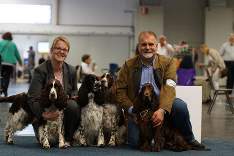 Four dogs - four European Winner titles, Photo: Ulf F. Baumann