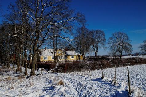 """The farm house of """"Visänga"""", Photo: Ulf F. Baumann"""