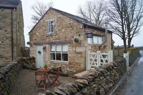 Mein Quartier - eine ausgebaute, alte Unterkunft für Schaftreiber - in Tosside, Lancashire, Foto: Ulf F. Baumann