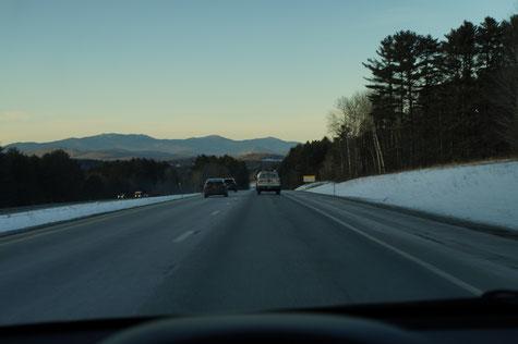 Richtung Vermont, Foto: Ulf F. Baumann