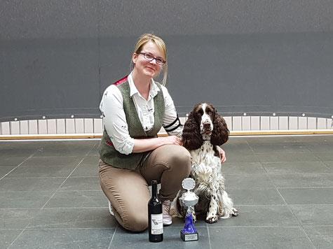 Heather gewinnt im Ehrenring, Foto: Ulf F. Baumann