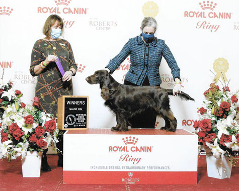 Dorothy gewinnt Major in Ohio! Foto: Booth Photography