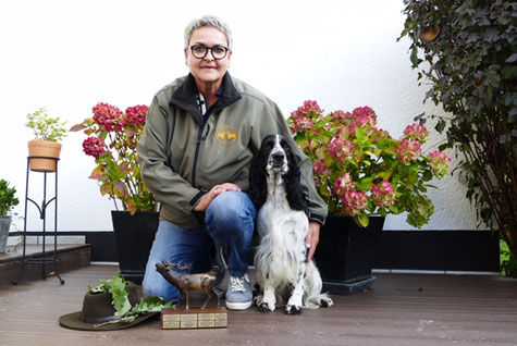 """Ein erfolgreiches Gespann - Ulrike Petry und """"Luise vom Belauer See"""", Foto: Robert Korff"""