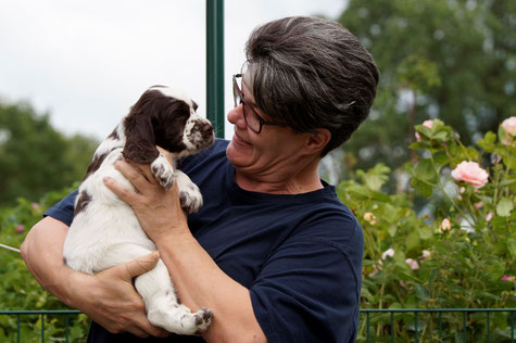 And another puppy evaluation, Photos: Ulf F. Baumann