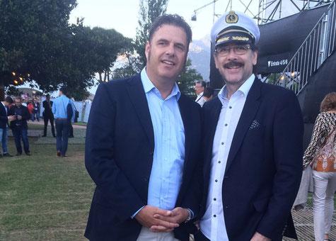 Direktor Titanic Das Musical Marco Wyss mit Edgar P. Lehmann