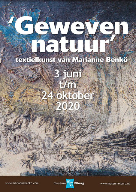 Marianne Benkö, geweven natuur | Vrijdag 13 maart  –  Juni 2020