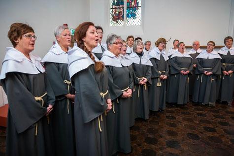 Concertposter susterenkoor St.-Agnes | Foto: Lusine Grigoryan