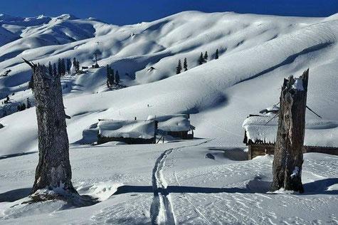 Skitour Caucasus, Skitour Georgien, Skitour Bakhmaro