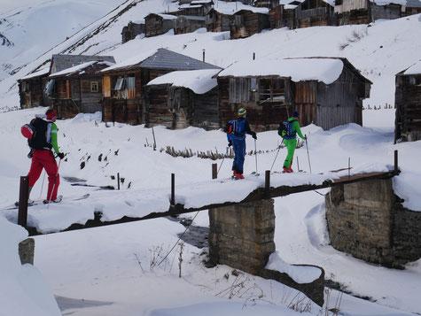 Catski&Tour, Skitour Georgien, Skitour Caucasus, Abenteuer Georgien