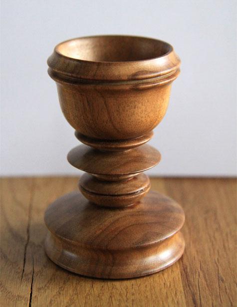 Holz, Eierbecher, Drechselarbeit, Tilmann Bohne, Holzsteinpapier