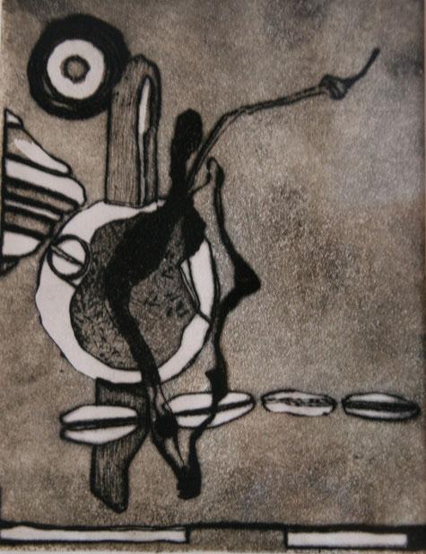 Druck, Kunst, Tilmann Bohne, Holzsteinpapier