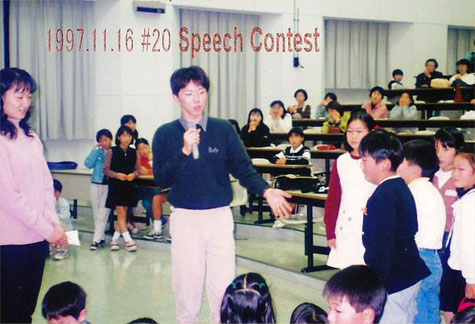 1997.11.16 #20 LL Speech Contest 校内大会でのStaff