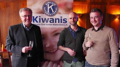 von links: Jürgen Kappel, Marcel Grewe und Jan Kürten