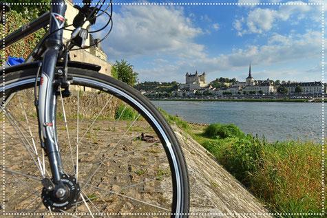 La Loire à Vélo - Saumur - Val de Loire - © J. Damase