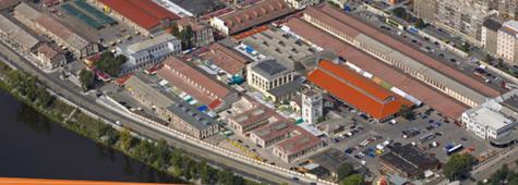 Holešovická tržnice v Praze