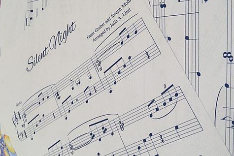 Weihnachtsmusik PDF Klavier Gesang