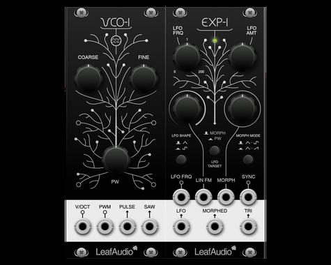 EXP-1 - leaf-audios Webseite!