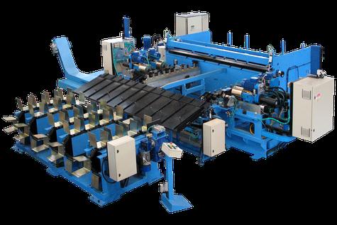 Linea lavorazione tondini diritti - Straight rod machining line