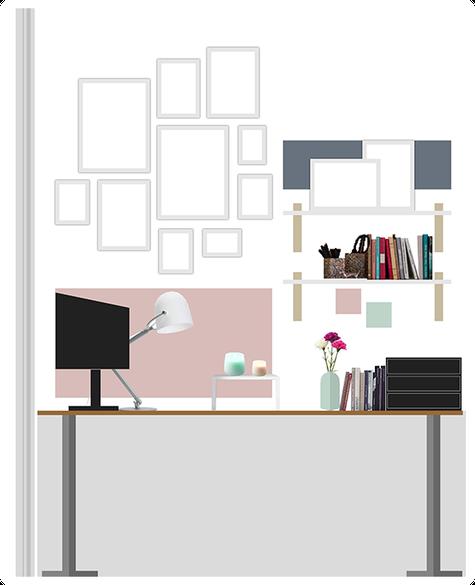 Photoshop Design Skizze des Arbeitsplatz