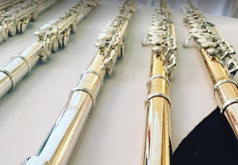 Миядзава лучшие музыкальные инструменты флейта из сплава серебра с никелем,