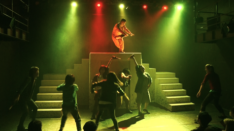 第一回公演「cicada」より。in 王子小劇場