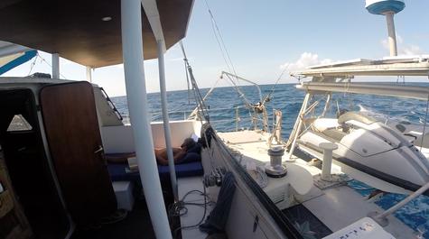 Segeln nach Providencia und diesmal entspannt mit Sonne!