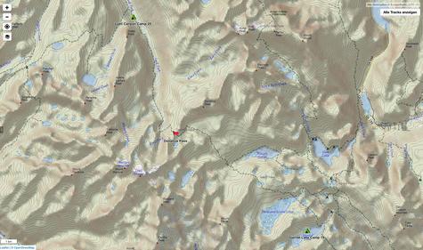 Garnet Lake via Island Pass und Donahue Pass in den Lyell Canyon